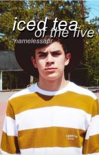 iced tea of the five ☕ hayes grier - hiatus by namelessapr
