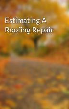 Estimating A Roofing Repair by housefixboy56