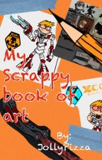 Mah ART BOOK by JollyPizza