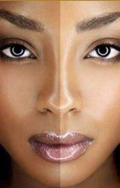 Light Skin Vs. Dark Skin by NicoleJohnson381