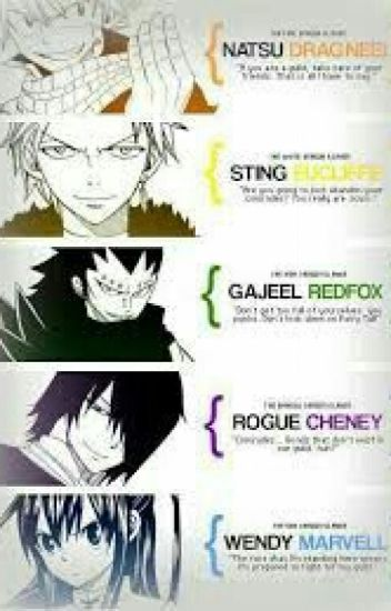 Fairy t Tail oneshot : Dragon Slayers x reader