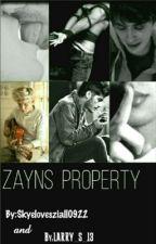 Zayn's property (BoyxBoy) by Skyelovesziall0922