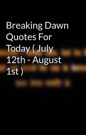 dawn quotes
