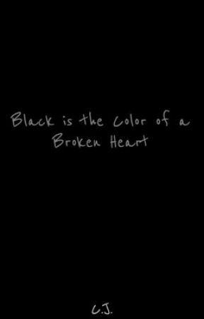 Black is the color of a broken heart