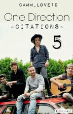 One Direction ~Citations~ 5 by CamM_Love1D