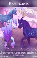 The Four Horses of Legend by BornOfMoonAndStars