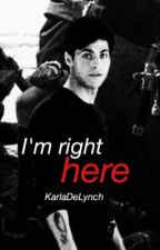 I'm right here ☻ malec [one shot] by KarlaDeLynch