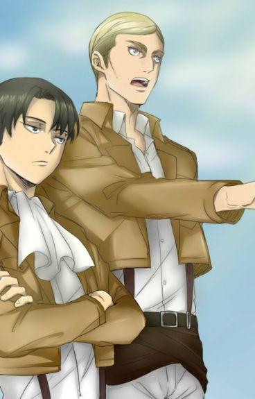 Erwin, Levi X reader [strong Lemon]