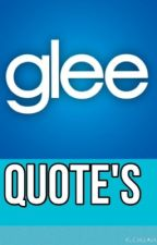 Glee quotes by xBrittanaForeverx
