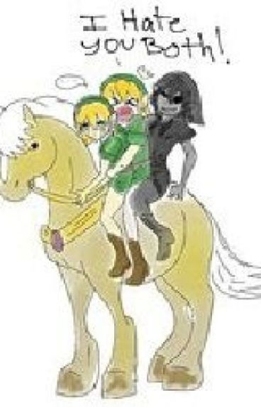 We re all different ben drowned x dark link x link x reader gamer