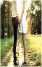 She-said, He-said (A Greyson Chance Fan Fiction) by Casketlilly