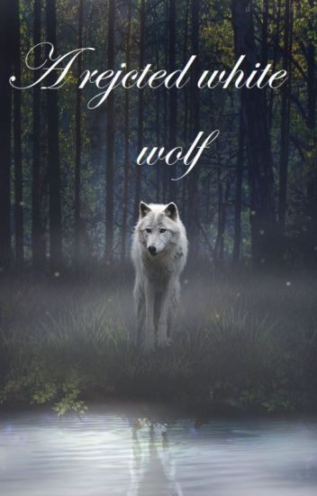 A rejected white wolf
