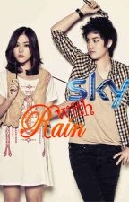 Sky with Rain (masked love) by black_raindrops