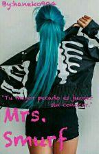Mrs. Smurf by Han_Wild