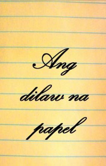 Ang dilaw na papel