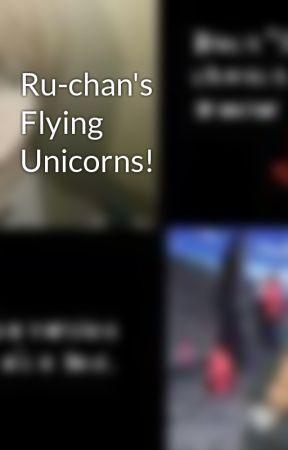 Ru-chan's Flying Unicorns! by rubytardiscosplay
