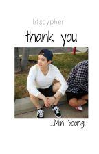 Thank you «Yoongi BTS» by btscypher