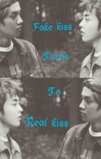 Fake Kiss Turned to Real Kiss by Eisuho_LuvDeerBaozi