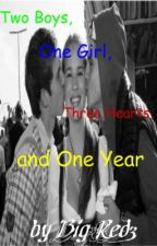 Two Boys, One Girl, Three Hearts, and One Year by BigRed3
