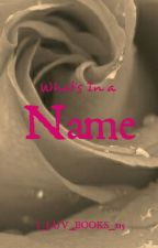 CHARACTER NAMES by I_LUV_Books_215