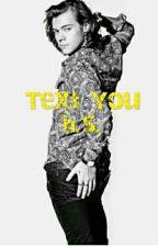 TEXT YOU h.s. by Lhejija