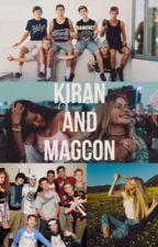 Kiran and Magcon by kiranblabla