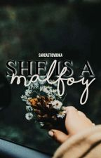 She is a Malfoy || G.Weasley by sarcasticvodka