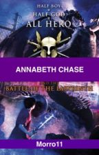 Annabeth Chase and the Battle of the Labyrinth by Morro11