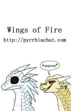 Wings of Fire: PyrrhiaChat.com by lightning-skybreaker