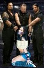 WWE The Shield and Their Slave by aj_lee129