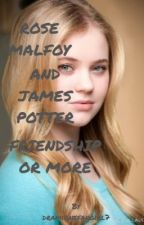 Rose Malfoy and James Potter by fangirlfreak7