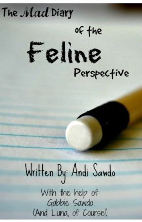 The Mad Diary of the Feline Perspective by cannibalcarrots