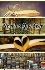 Novelas que leer by directionerdelflow