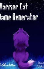 Warrior Cat Name Generator by Littlechirp