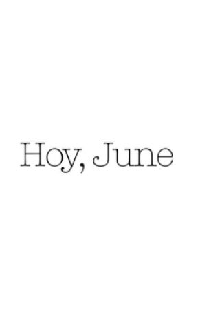 Hoy, June by witcheverwriter