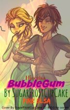 BubbleGum (Modern Hiccelsa) (Bad Girl Elsa) by SugarFrostCupcake