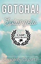 Gotcha! - Solangelo by SmokeyQuartz