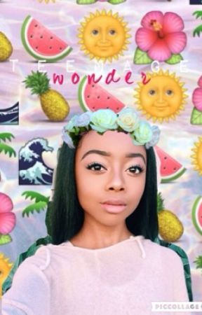 teenage wonder • status book by ZuriRossx_
