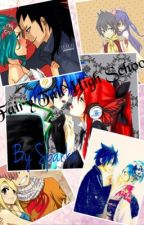 Fairy Tail High Island Survivng(Fairy Tail Fanfiction, Jerza, Gruvia, Rowen, Gale, Nalu) by Sparkxee