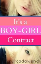 It's a Boy-Girl Contract (TO BE EDITED) by JaehaJack