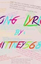 Random Song Lyrics by Whittney5683