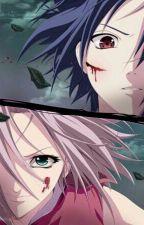 sasuke vs sakura by holyorsinful