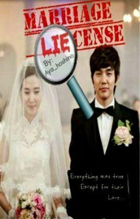 Marriage LIEcense (SHORT STORY) by Aya_hoshino