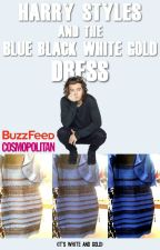 Harry Styles and The Black Blue White Gold Dress by okliam