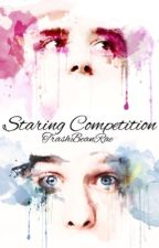 Staring Competition ~ Phan AU by squipsquash