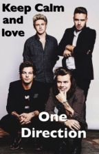 Keep Calm and love One Direction by Anabonakanele