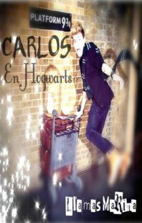 Carlos en Hogwarts by LlamasMarina