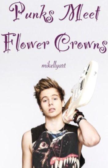Punks Meet Flower Crowns >> Lashton AU ✔️