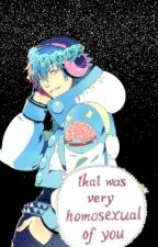 Ask/ Dare Aoba~ (Or the Admin) by -Aoba-