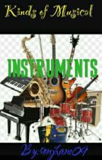 kinds of musical instrument by ronjhane09